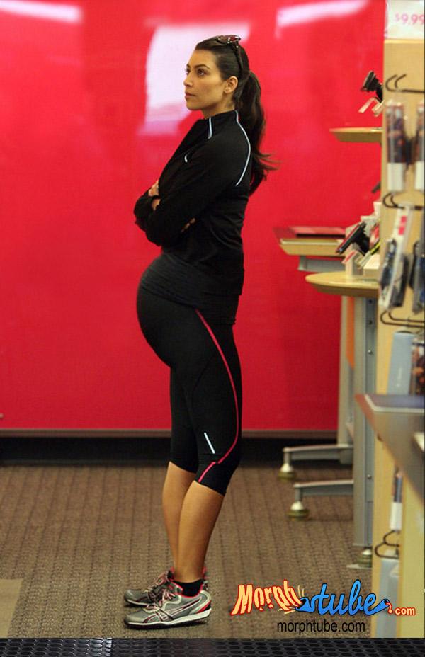 kim kardashian pregnant. Kim Kardashian at an ATamp;T